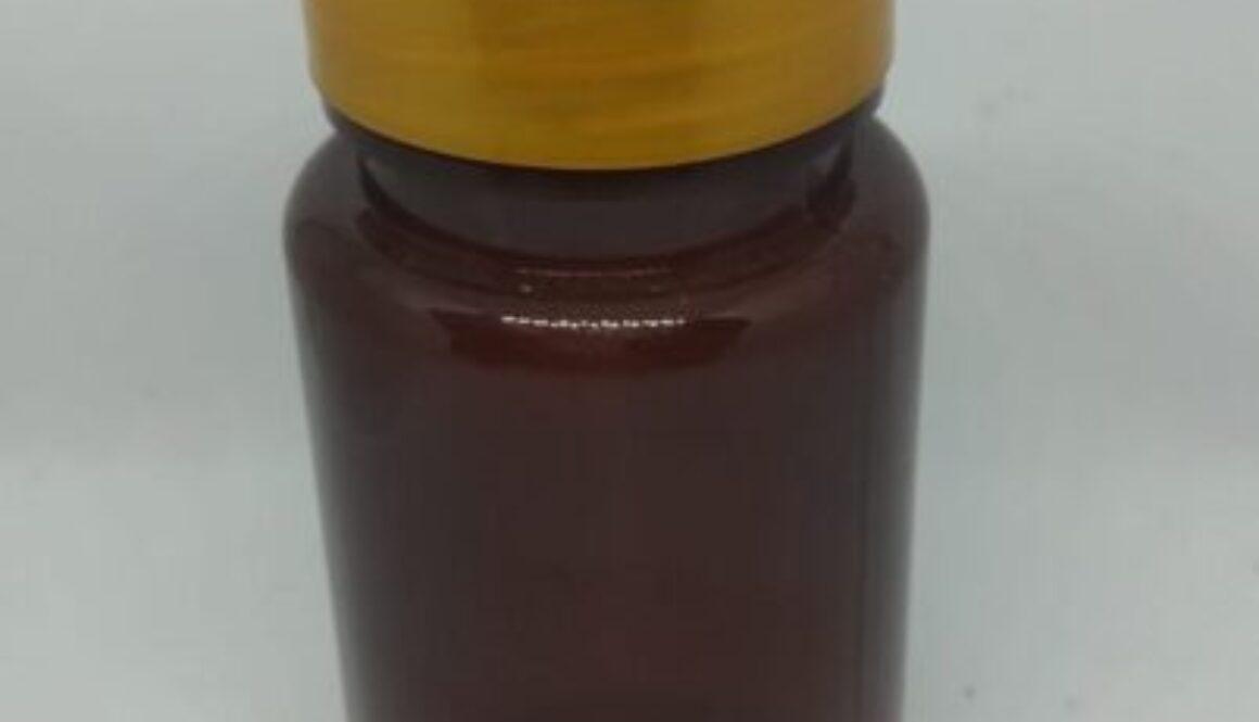 Botol capsul 120ml coklat